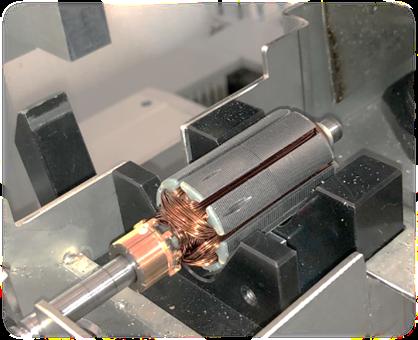 BT-4600 , 雙工位電樞去質量平衡機