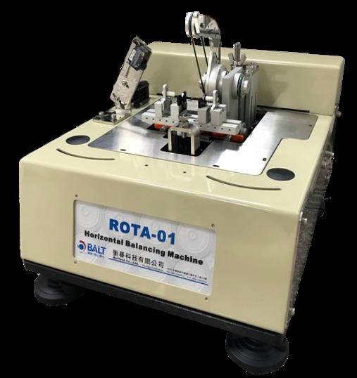 ROTA-1K  , 臥式平衡機 , 刀把平衡機 , 刀具平衡校正 , 桌上型刀具動平衡機, 刀具動平衡機, 動平衡刀柄